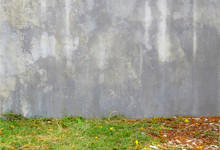 Age Street Wall With Grass Lawn