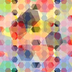geometric abstract color pa...