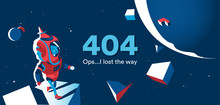 Page Not Found 404 Lost In Space