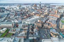 Cityscape Of Liverpool