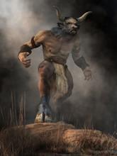 The Minotaur, Half Man Half Bu...