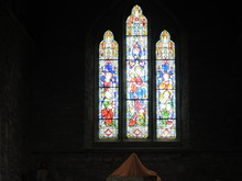 Stained Glass Window In Irish ...