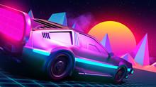 Retro Car Of The Future