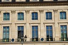 Paris; France - August 4 2018 : Place Vendome