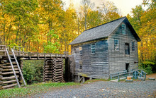 Mingus Mill In Cherokee, North Carolina.