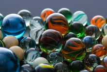 Glass, Crystal Marbles.