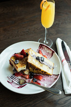 French Toast With Mimosa