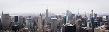 Daylight Panorama Of New York From The Top Of The Rock - New York City, NY