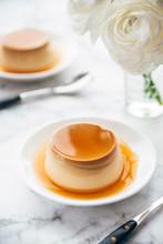 Food: Creme Caramel Pudding