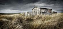 An Abandoned Hut In Long Grass