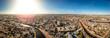 Leinwandbild Motiv Aerial view of Haarlem in spring, Netherlands
