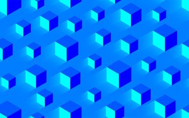 kreatywne bezszwowe niebieski tekstura tło z głośności i światła