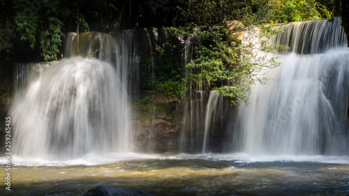 Aluminium Prints Dark grey Beauty, Environmental Conservation, Environmental Issues, Flowing, Forest, Freshness, Horizontal, Landscape - Scenery, Leaf, Lush Foliage, Majestic, Natural Parkland, Nature, No People, Outdoors, Phot
