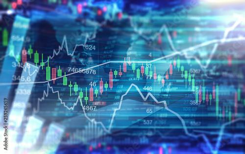 Photo  Chart - Börse - Finanzen