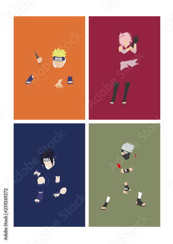 Naruto Mood Wallpaper Mural