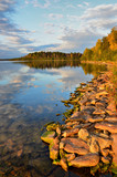 Fototapeta Tęcza - Tour in the autumn of the southern Urals. In nature reigns Golden autumn.
