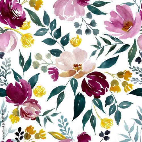 akwarela-kwiatowy-wzor-delikatny-kwiat-tlo