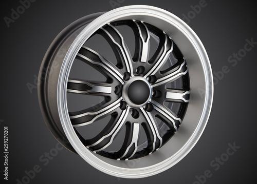 alloy wheel or rim Canvas Print