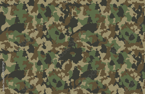 Cuadros en Lienzo texture military camouflage repeats seamless army green hunting