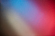 Gray red and blue colors on a blurred small textural background