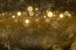 orange cute shining glitter lights defocused bokeh abstract background with sparks fly, celebratory mockup texture with blank space for your content