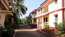Colorful Houses In South Goa, ...
