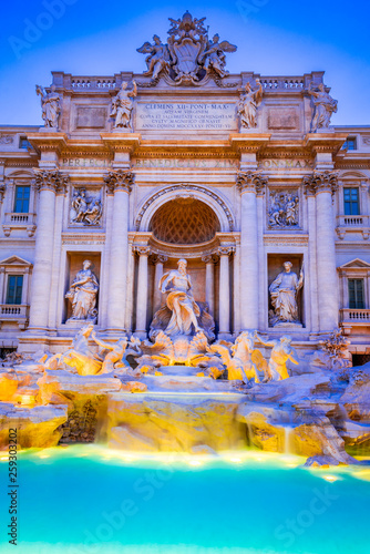 Fotografía  Rome, Italy - Fontana di Trevi
