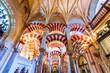 Leinwanddruck Bild - Cordoba - Cathedral Mezquita, Andalusia, Spain