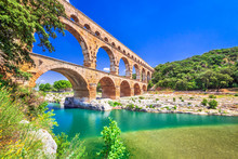 Pont Du Gard, Provence In France