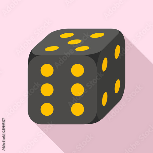 Photographie  Lucky dice icon