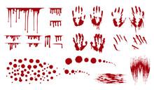 Blood Splatter, Bleed Stains A...