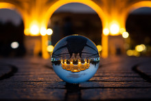 Liberty Square Arch Crystal Ball