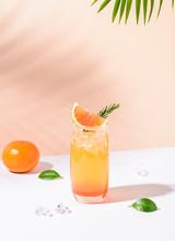 Cold And Refreshing Orange Pun...