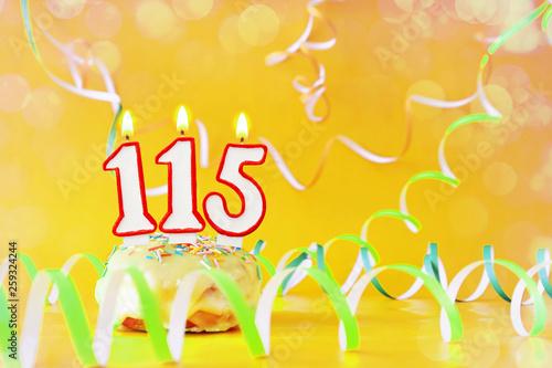 Fotografia  One hundred and fifteen years birthday