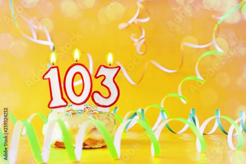 Tela  One hundred and three years birthday