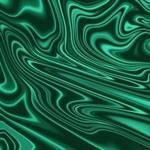 Green Malachite Surface Texture Background