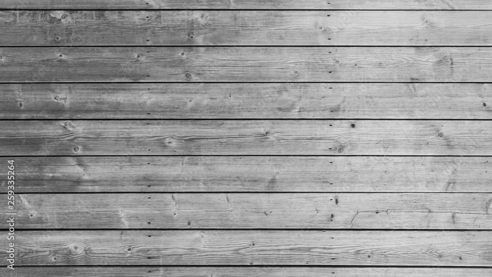 Fototapety, obrazy: White or gray wood wall texture with natural patterns background. Grey wooden table top backdrop.