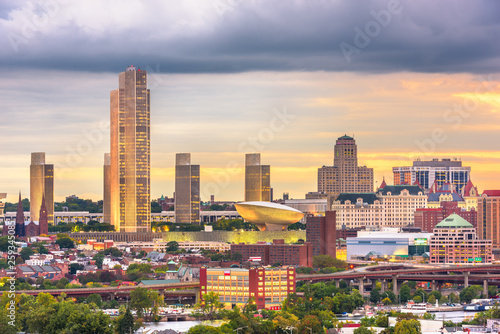 Albany, New York, USA skyline Canvas Print