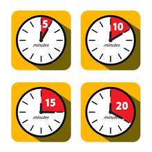 Vector Clock Set. Five, Ten, F...