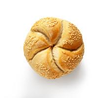 Kaiser Roll Fresh Baked Bun Is...