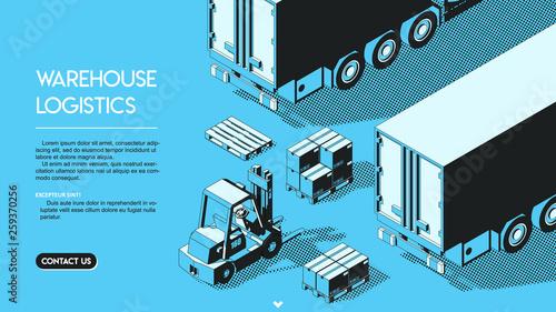 Photo Warehouse Logistics Concept