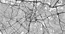 Urban Vector City Map Of Sao P...
