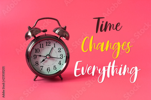 Time Changes Everything Concept Wallpaper Mural