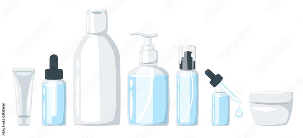 Fototapeta cosmetic care product in bottle
