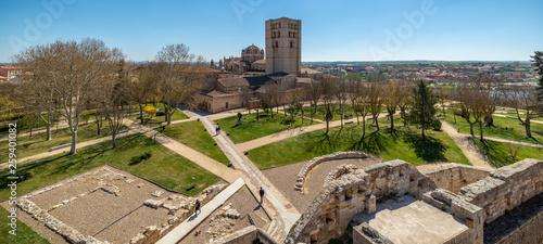 Fotografie, Obraz  Castillo, ruina fortaleza en zamora españa