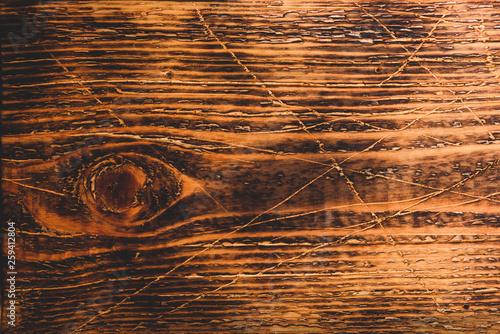 Fotografiet  Old wooden surface