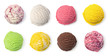 Leinwandbild Motiv ice cream ball
