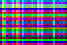 Vector Background Image With Multicolored Squares Of Different Shades, Mesh