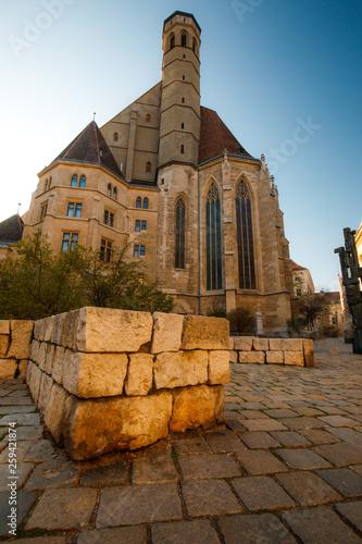 Photo The Minoritenkirche in Vienna Austria