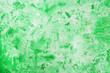 Leinwanddruck Bild - Antique wall surface, green texture of decorative plaster, architecture abstraction background